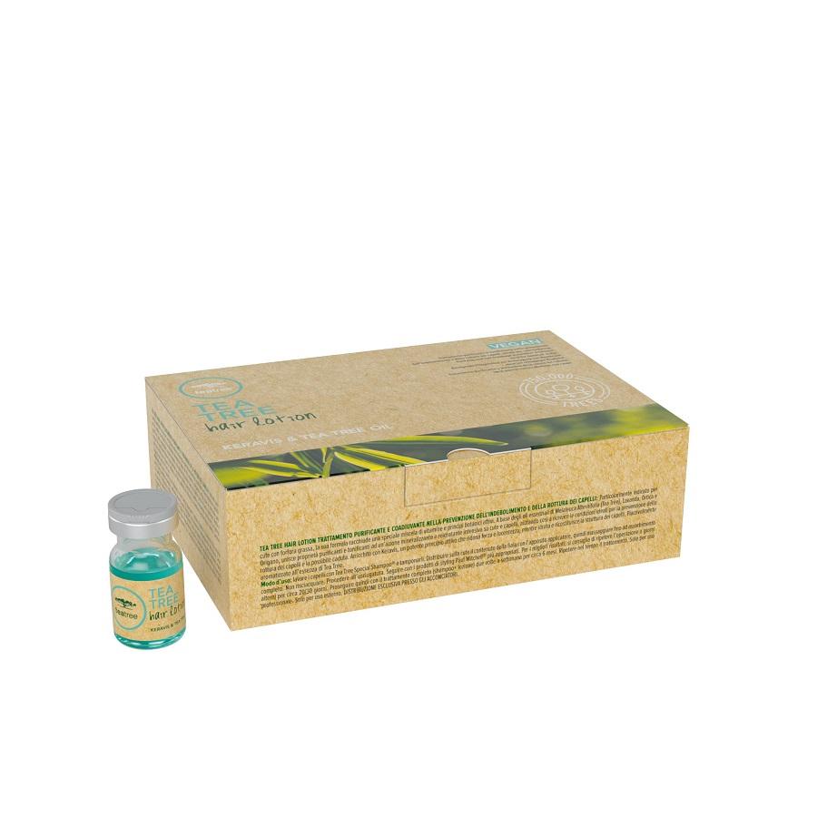 Paul Mitchell Tea Tree Hair Lotion Keravis & Tea Tree Oil 12x6ml