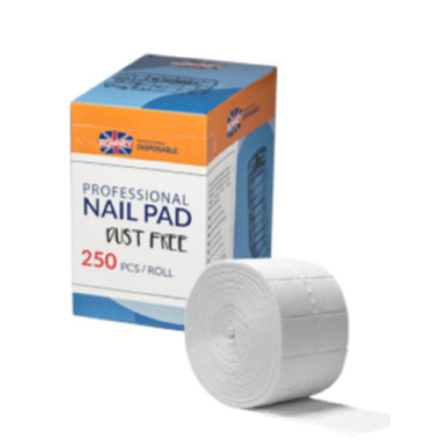 Ronney Nail pad dust free 250 pcs.