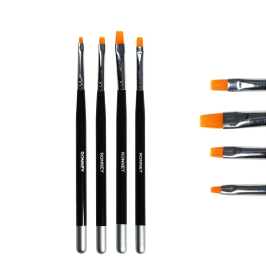 Ronney Professional Brush Set 4 pcs.