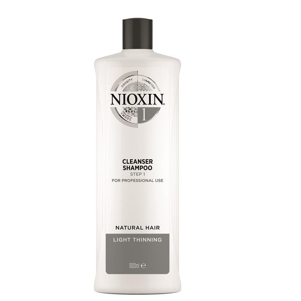 Nioxin System 1 Cleanser Shampoo 1000ml
