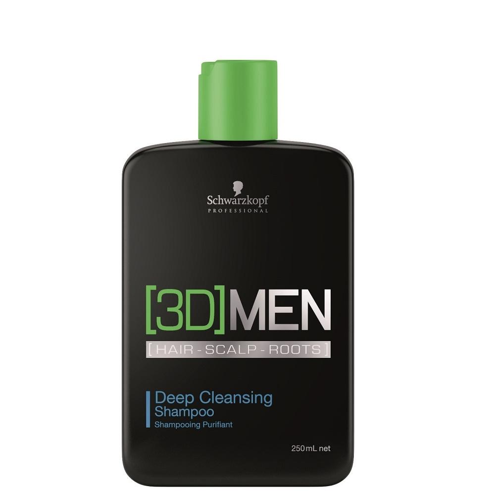 Schwarzkopf 3D Men Deep Cleansing Shampoo 250ml