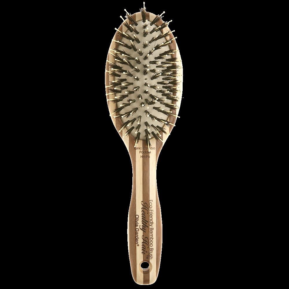Olivia Garden Healthy Hair Bambus Combo Paddle
